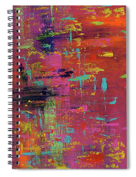 Play Of Passion Spiral Notebook
