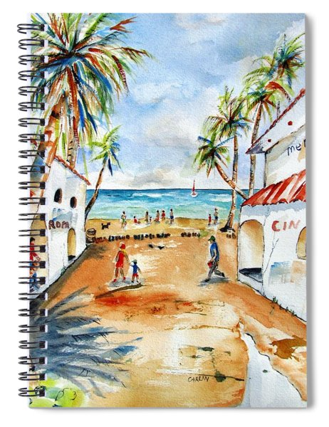 Playa Del Carmen Spiral Notebook
