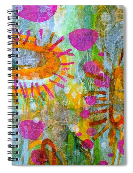 Playground In The Sea Spiral Notebook