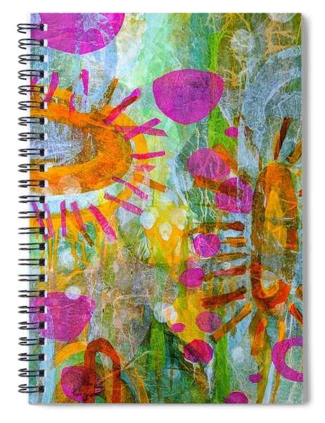 Playground In The Sea Spiral Notebook