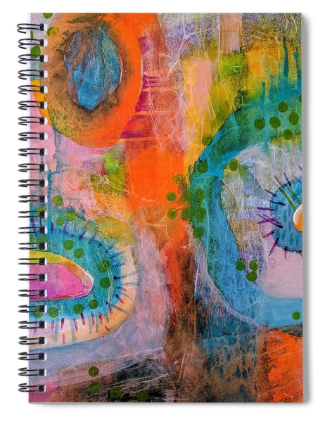 Playground In The Sea II Spiral Notebook