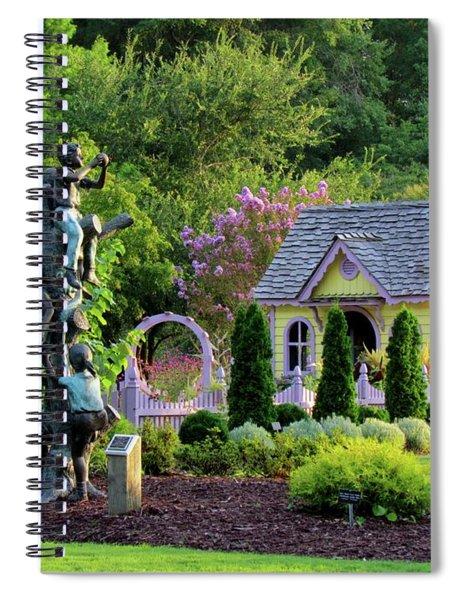 Playhouse In The Garden Spiral Notebook