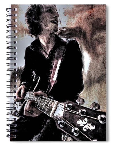Playin' Grunge Spiral Notebook