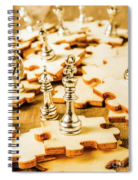 Playing To Win Spiral Notebook