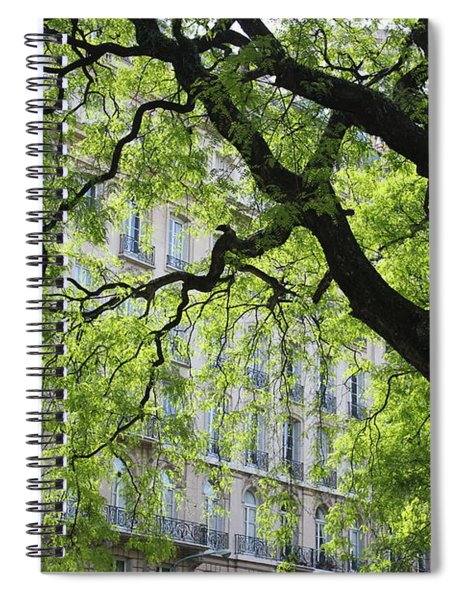 Plaza San Martin Spiral Notebook