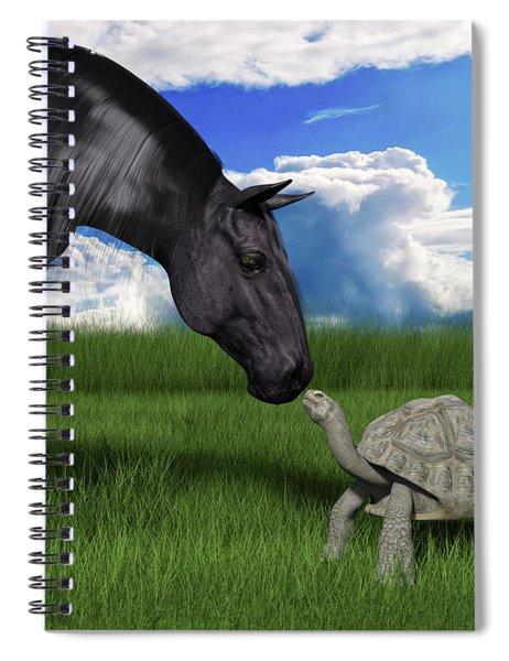 Pleasure To Meet You Spiral Notebook