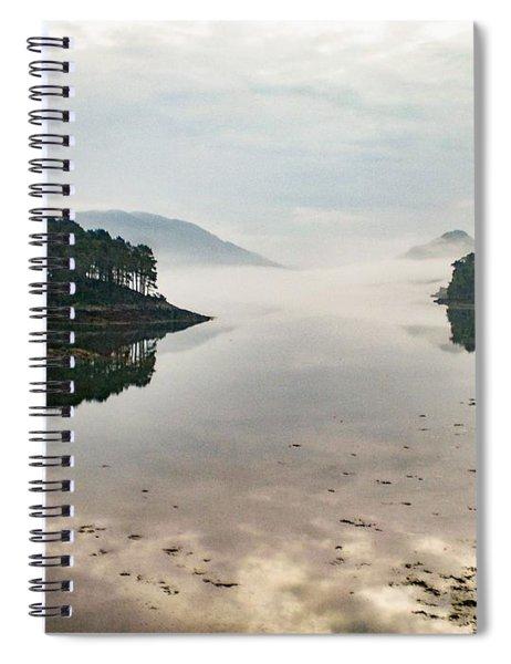 Plockton, Highlands, Scotland,  Spiral Notebook