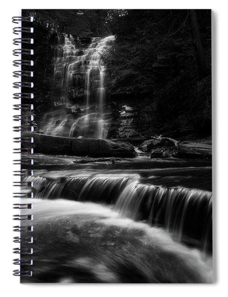 Plotter Kill Falls Spiral Notebook