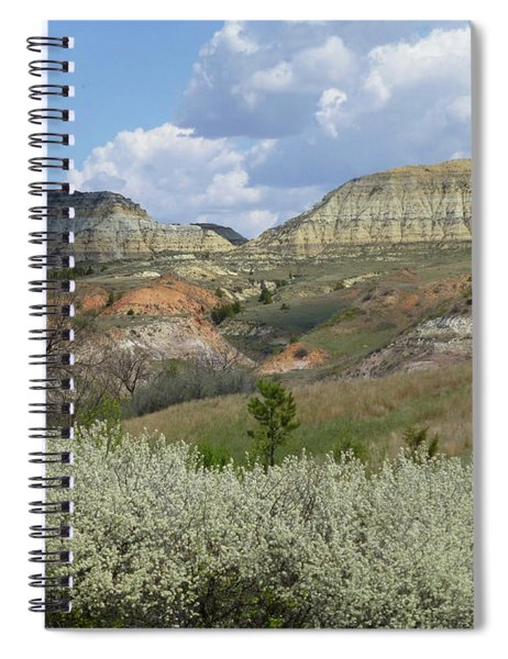 Plum Thicket Near The Burning Coal Vein Spiral Notebook
