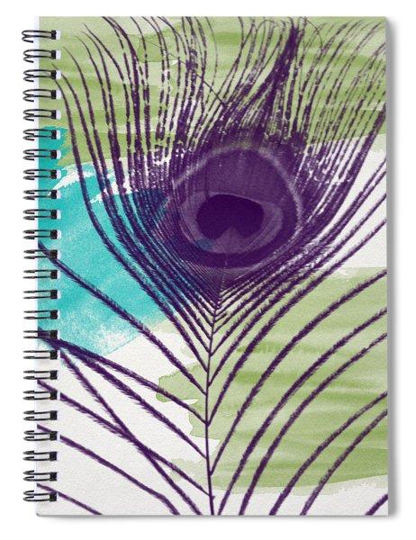 Plumage 2-art By Linda Woods Spiral Notebook