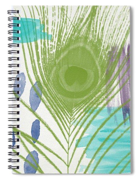 Plumage 4- Art By Linda Woods Spiral Notebook