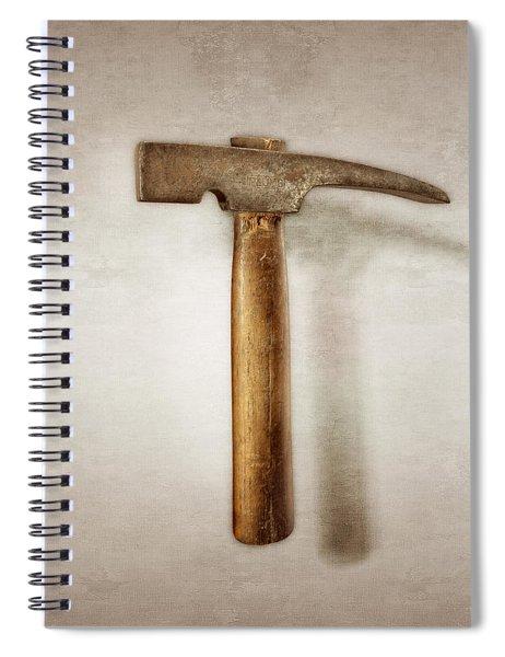 Plumb Masonry Hammer Spiral Notebook