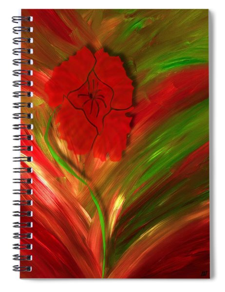 Plume Of Remembrance Spiral Notebook