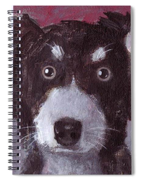 Po The Dog Spiral Notebook