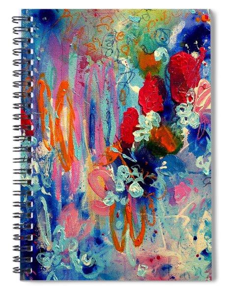 Pocket Full Of Horses 3 Spiral Notebook