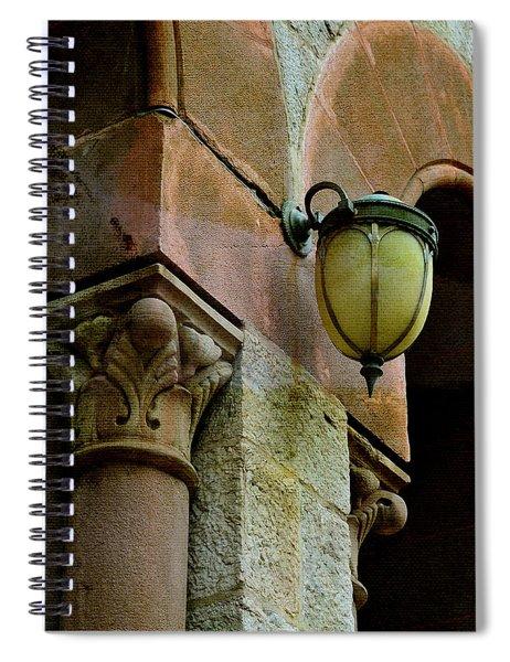 Poetic Yesterdays Spiral Notebook