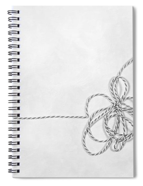 Point A To Point B Spiral Notebook