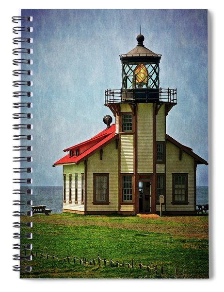 Point Cabrillo Lighthouse, Casper, California Spiral Notebook