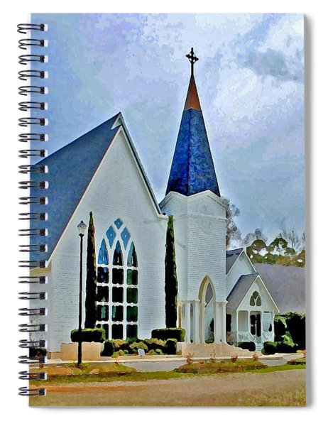 Point Clear Alabama St. Francis Church Spiral Notebook