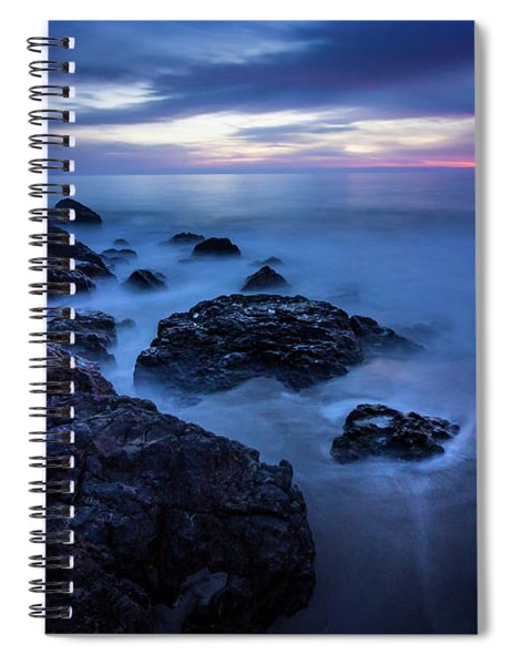 Point Dume Rock Formations Spiral Notebook