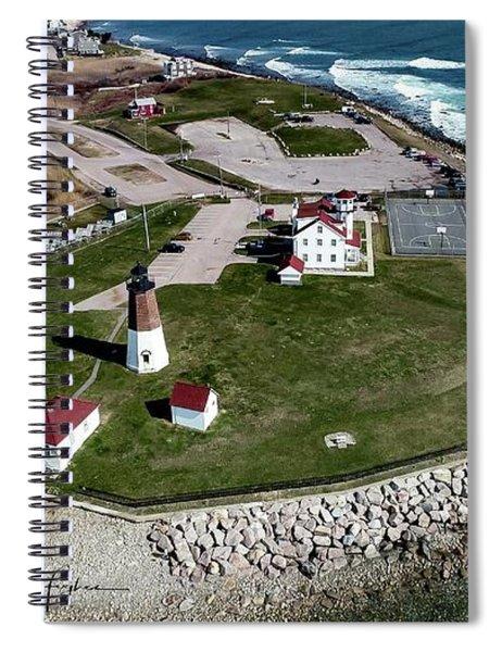 Point Judith Easter Cross Spiral Notebook