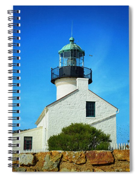 Point Loma Lighthouse - San Diego Spiral Notebook