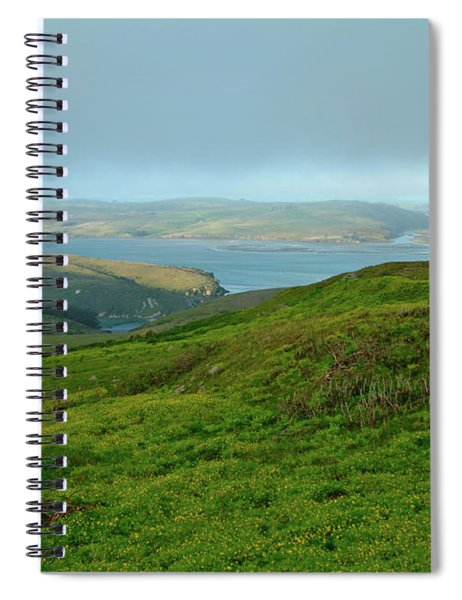 Point Reyes Overlooking Tomales Bay Spiral Notebook