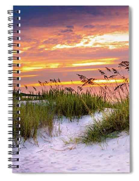 Point Sunrise Spiral Notebook