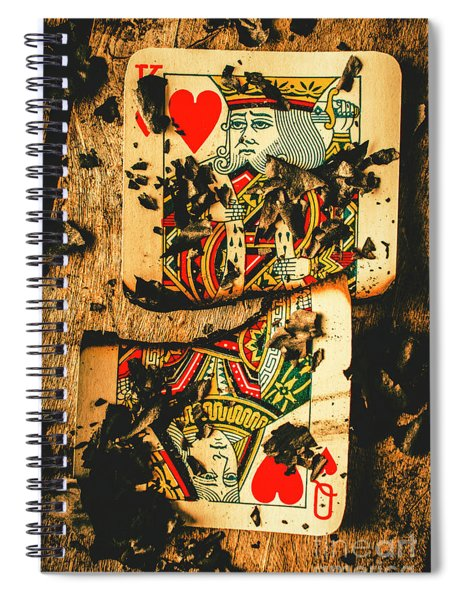 Poker War Revolt Spiral Notebook