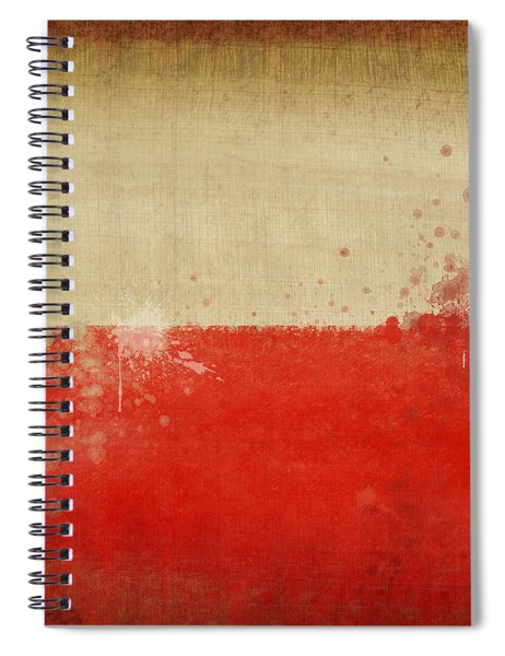 Poland Flag  Spiral Notebook