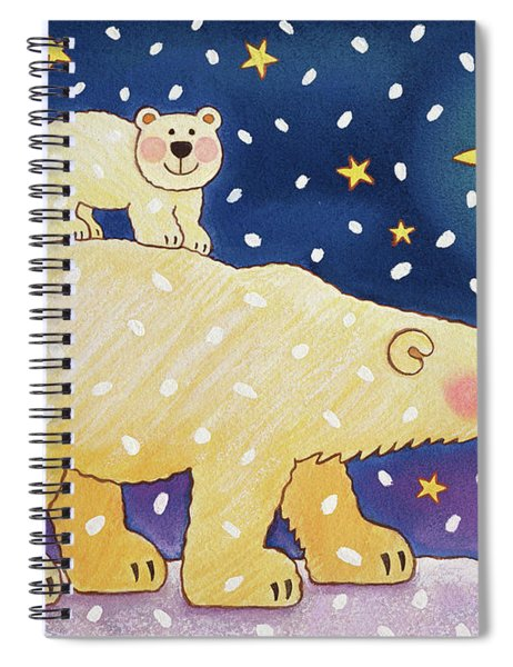 Polar Back Ride Spiral Notebook