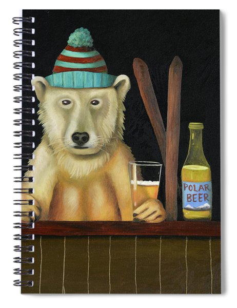 Polar Beer Spiral Notebook