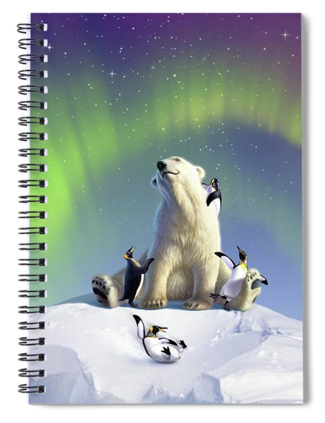 Polar Opposites Spiral Notebook