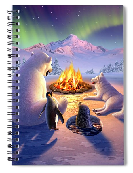 Polar Pals Spiral Notebook