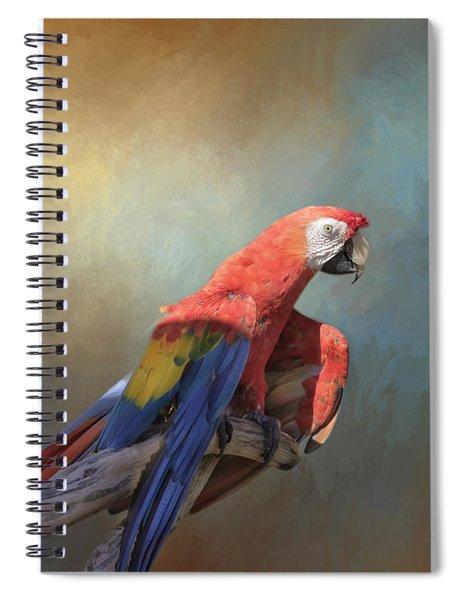 Polly Want A Cracker Spiral Notebook