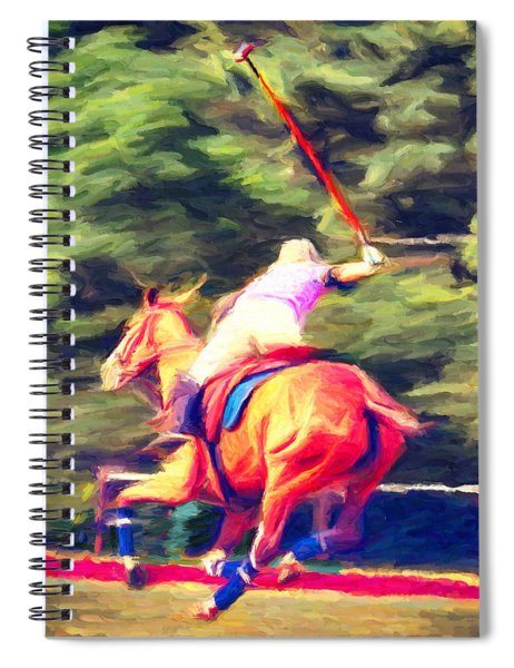 Polo Game 2 Spiral Notebook
