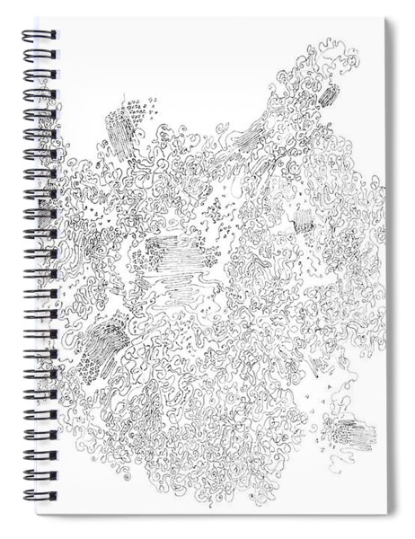 Polymer Crystallization With Modifiers Spiral Notebook