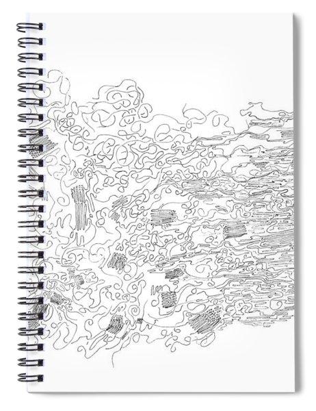 Polymer Fiber Spinning Spiral Notebook