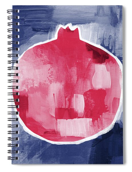Pomegranate- Art By Linda Woods Spiral Notebook