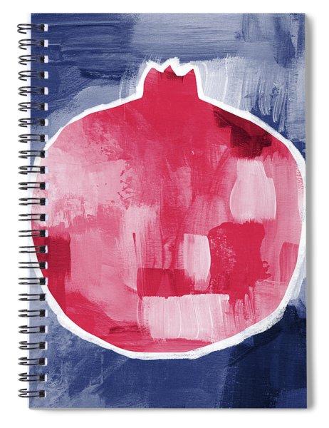 Pomegranate- Art By Linda Woods Spiral Notebook