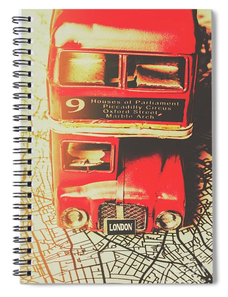 Pommy Promenade Spiral Notebook