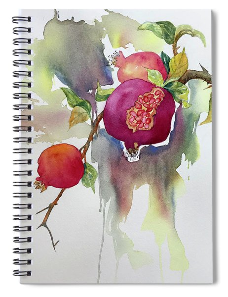 Pomegranates Spiral Notebook