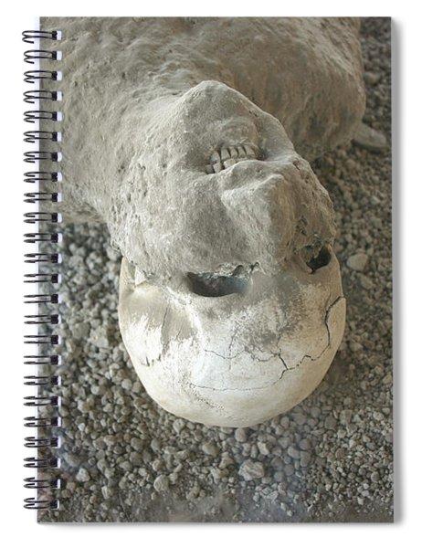 Pompei Man Spiral Notebook