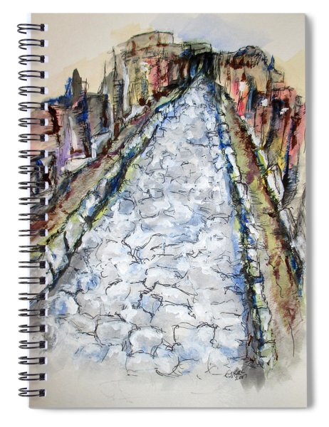 Pompeii Road Spiral Notebook