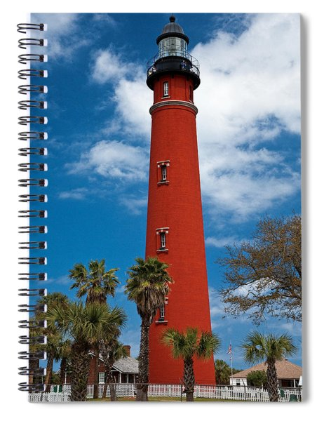 Ponce Inlet Lighthouse Spiral Notebook