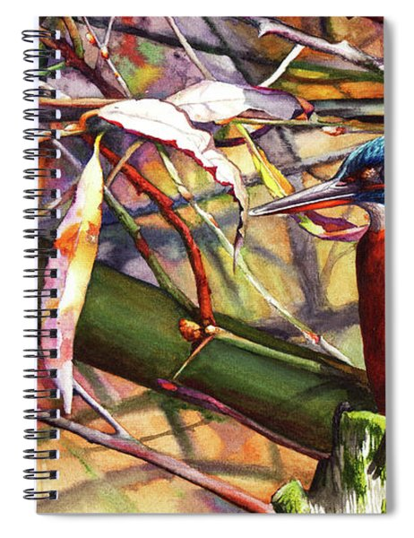 Pond Life Spiral Notebook