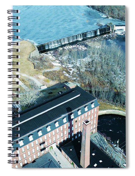 Ponemah Mill And Dam Spiral Notebook