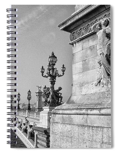Pont Alexandre Spiral Notebook