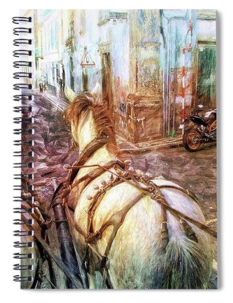 Ponta Delgado A Caballos Spiral Notebook