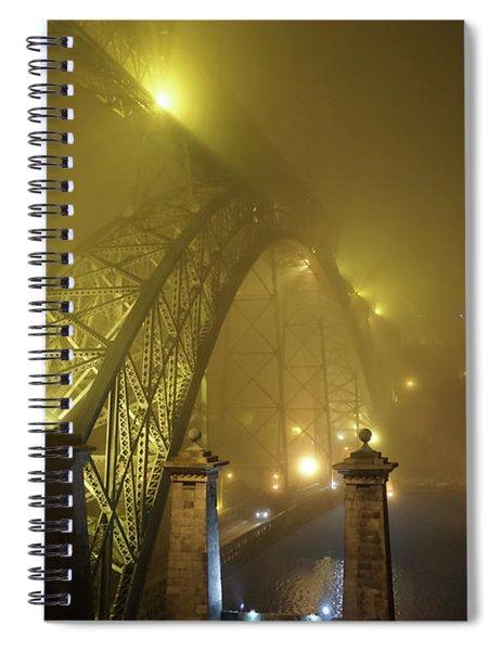Ponte D Luis I Spiral Notebook